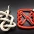 Pretzel Conformation of Knot 7_4 image