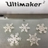 Tiny Snowflake Ornaments - from the Snowflake Machine image