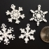 Tiny Snowflake Ornaments - from the Snowflake Machine primary image
