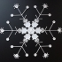 Huge Snowflakes - from the Snowflake Machine image