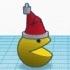 Pacman christmas ornament image