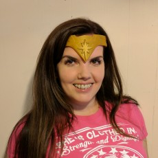 Picture of print of Wonder Woman Tiara Dawn of Justice