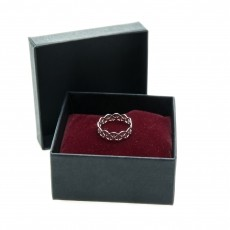 DNA Silver Ring 2