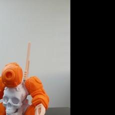 Picture of print of SKULLBOT 001 - via 3DKTOYS