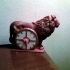 Lion Clock image