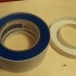 Blue Tape Roll Holder - stays clean image