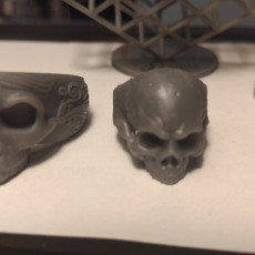 Picture of print of Skull Ring