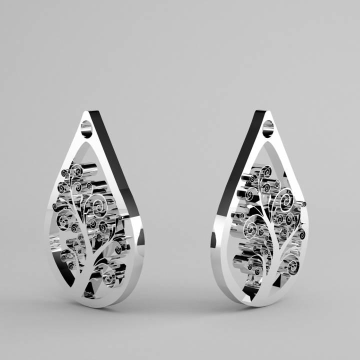 earrings or pendant