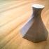 Diverging Spiral Vase image