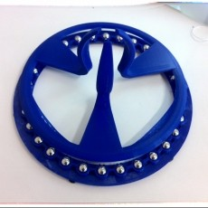 flat bearing for spool (need 30x 8mmØ steel balls + 6 rubber feets)