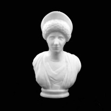 Bust of a Roman Lady at The State Hermitage Museum, St Petersburg