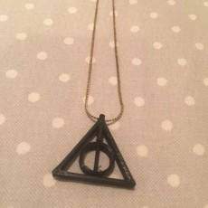 Harry Potter Deathly Hallows Pendant