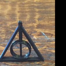 Picture of print of Harry Potter Deathly Hallows Pendant