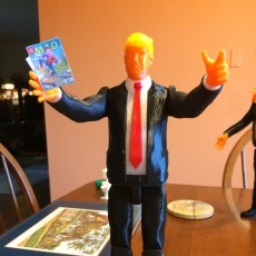 Picture of print of DONALD TRUMP ACTION FIGURE!