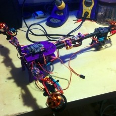 Excelsior Alpha - Vectored Thrust Tricopter Proof-of-Concept