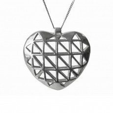 necklace heart-shaped