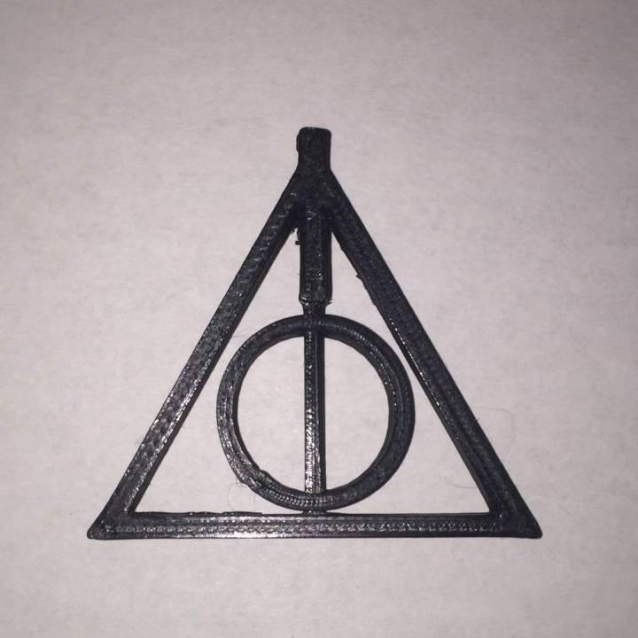 Download Harry Potter Deathly Hallows Pendant Von Lauren Kosub