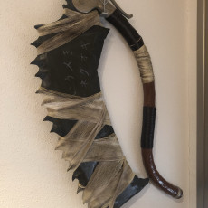 Picture of print of Playstation Bloodborne Saw Cleaver