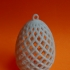 Easter Egg Ornament print image