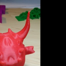 Picture of print of Demon head! This print has been uploaded by Scott