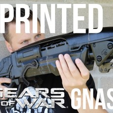 Picture of print of Gears Of War - GNASHER