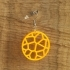 Earrings Voronoi 1 image