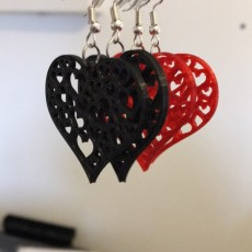 Picture of print of Earrings hearts 1.2 This print has been uploaded by Ricardo