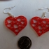 Earrings hearts 1.2 print image