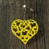 Earrings hearts 1.3 print image