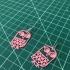 Earrings owl 1 print image