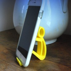 Picture of print of phone stand