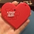 Piece of my heart keychain set image