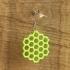 Earrings hexagon 1 primary image