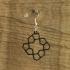 Earrings Cairo pentagonal tiling 4.2 image