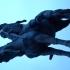Decebalus Equestrian Statue in Deva, Romania image