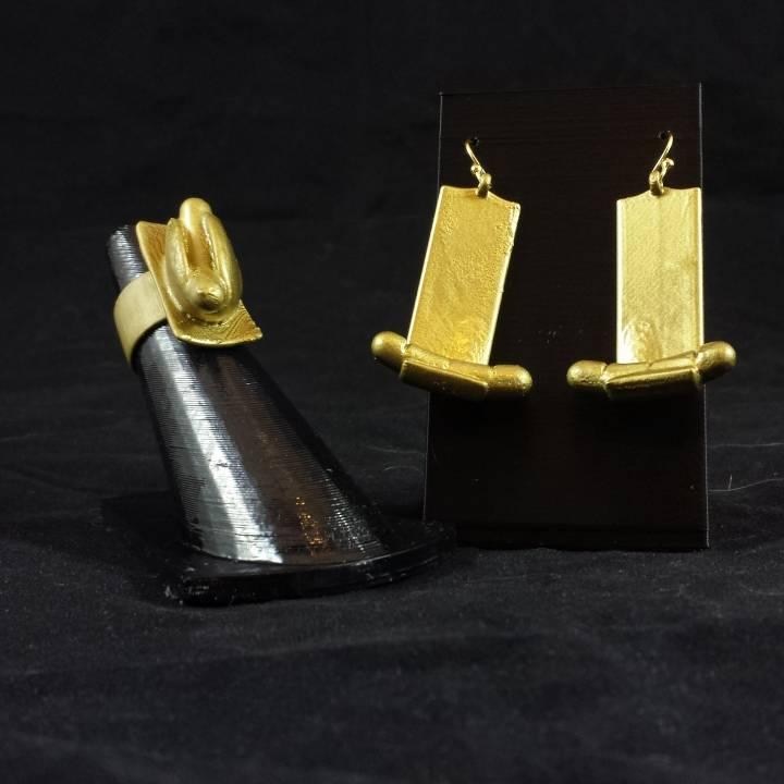 Art-Hotdog Earrings