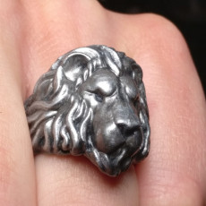Picture of print of Lion Ring