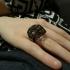 Skeletal Diamond Ring (size 5) image