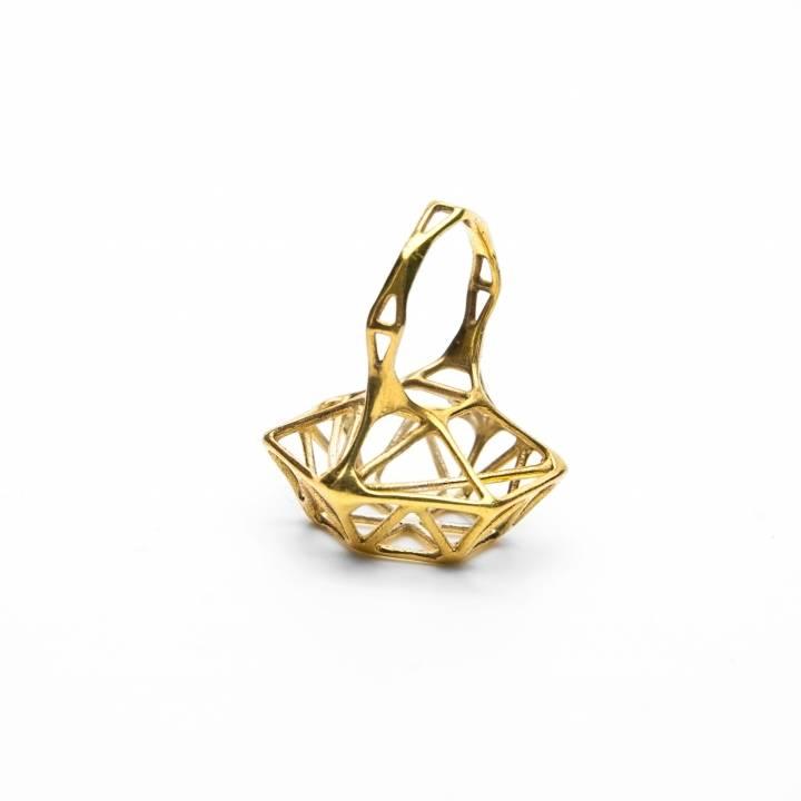 Skeletal Diamond Ring (size 5)