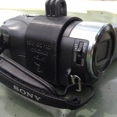 Camera Mount for Sony HDR-CX405 HandyCam