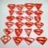 All of Superman logos image