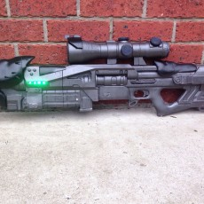 Picture of print of The Black Spindle Exotic Sniper Rifle from Destiny