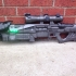 The Black Spindle Exotic Sniper Rifle from Destiny print image