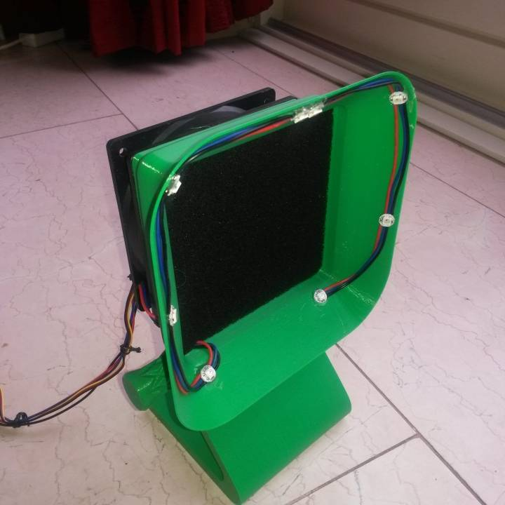 Solder Fume Extractor for 120 mm fan