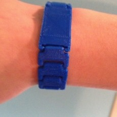 Print In Place Wristband