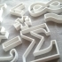 Mathematical cake molds image