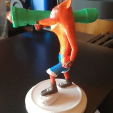 Picture of print of Crash Bandicoot