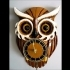 Tinas owl clock with moving eyes image