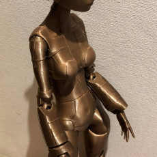 "Picture of print of ""Robotica"" BJD Doll"