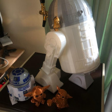 Picture of print of R2D2 - Non Electronic Version